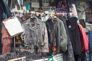Punk clothes for sale, Camden High Street