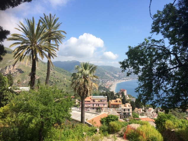 Taormina view, April 8, 2017